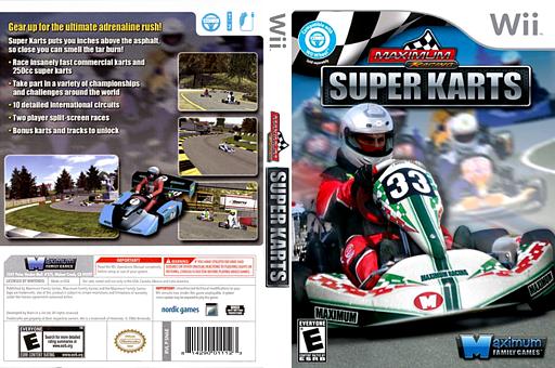 Maximum Racing: Super Karts Wii cover (SN6EYG)