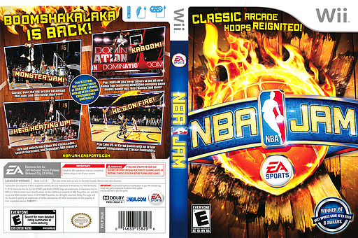 NBA Jam Wii cover (SNJE69)