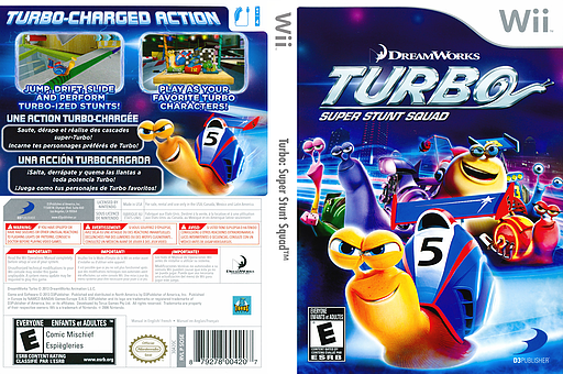 Turbo: Super Stunt Squad Wii cover (SOSEG9)