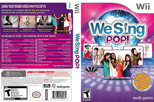 We Sing Pop! Wii cover (SQEENG)