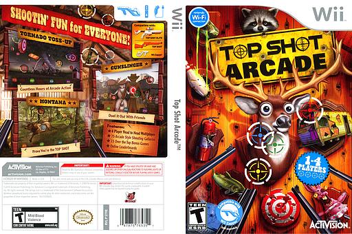 Top Shot Arcade Wii cover (ST9E52)