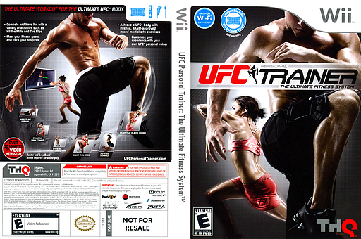 UFC Personal Trainer: The Ultimate Fitness System Wii cover (SU4E78)