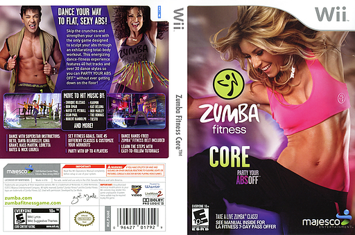 Zumba Fitness Core Wii cover (SU6E5G)