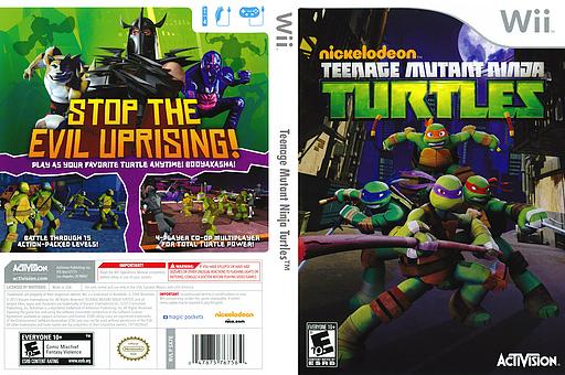 Download nickelodeon teenage mutant ninja turtles wii