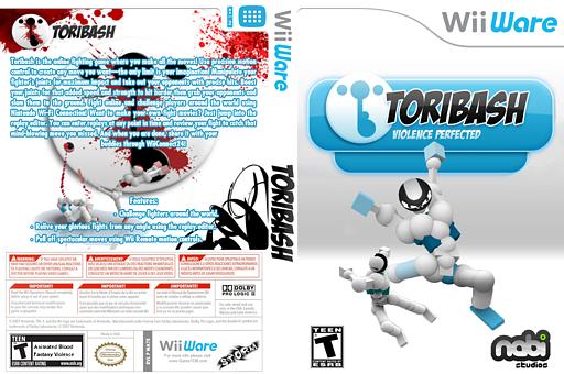 Toribash WiiWare cover (WA7E)