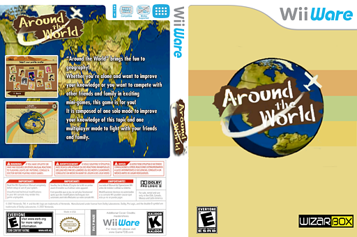Around The World WiiWare cover (WAEE)