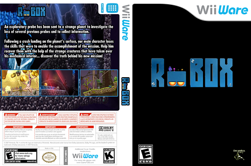 Robox WiiWare cover (WRTE)