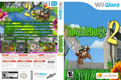 Tumblebugs 2 WiiWare cover (WTUE)