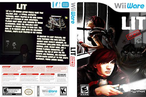 Lit (Demo) WiiWare cover (XH7E)