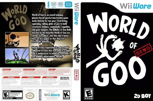 World of Goo (Demo) WiiWare cover (XHFE)