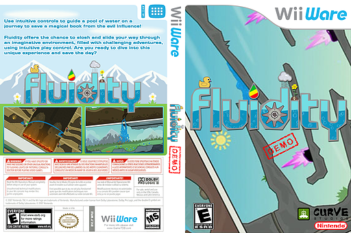 Fluidity (Demo) WiiWare cover (XHIE)