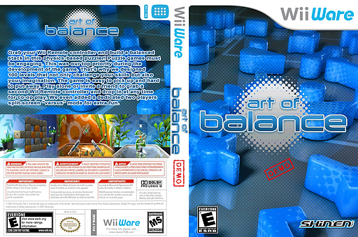 Art of Balance (Demo) WiiWare cover (XHME)