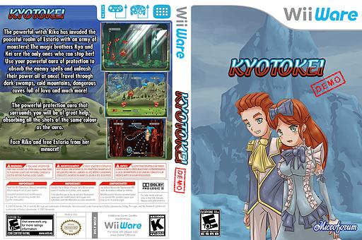 Kyotokei (Demo) WiiWare cover (XI2E)