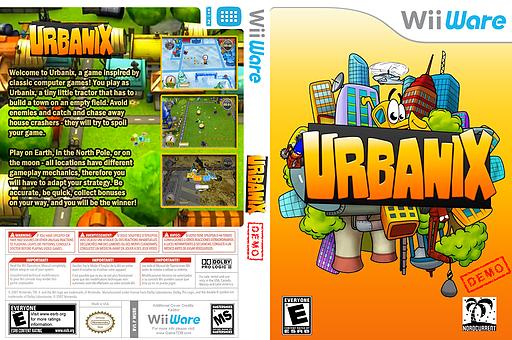 Urbanix Demo WiiWare cover (XIGE)