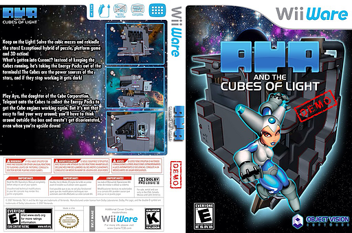 Aya and the Cubes of Light Demo WiiWare cover (XJEE)