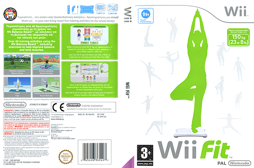 Wii Fit Wii cover (RFNP01)