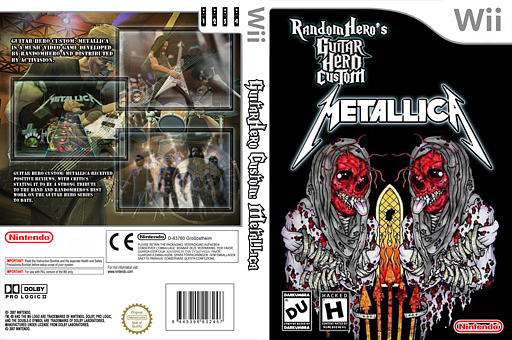 Guitar Hero III Custom:Metallica CUSTOM cover (RGCM52)
