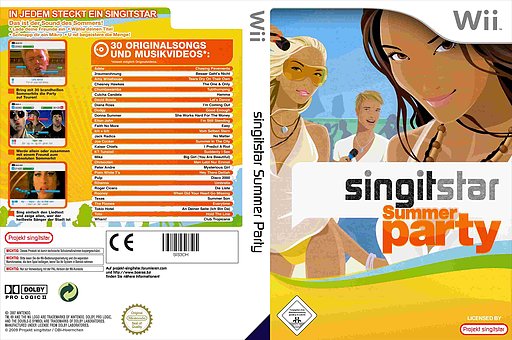 SingItStar Summer Party CUSTOM cover (SIS3OH)