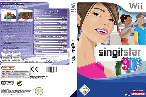 SingItStar 90´s CUSTOM cover (SIS90H)
