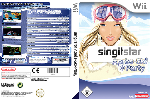 SingItStar Après Ski Party CUSTOM cover (SISAOH)