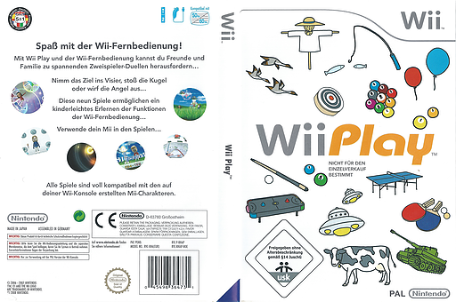 Wii Play Wii cover (RHAP01)