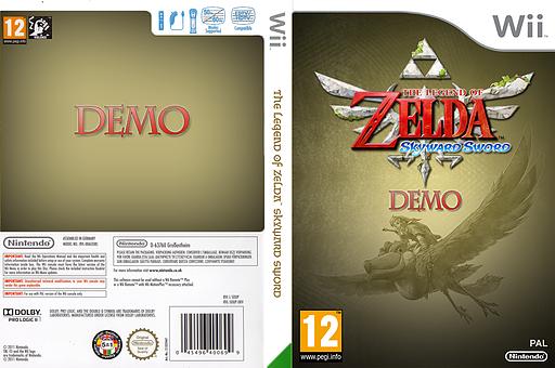The Legend of Zelda: Skyward Sword (Demo) Wii cover (DAXP01)