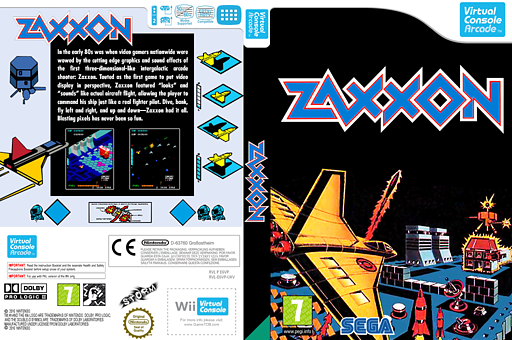 Zaxxon VC-Arcade cover (E6VP)
