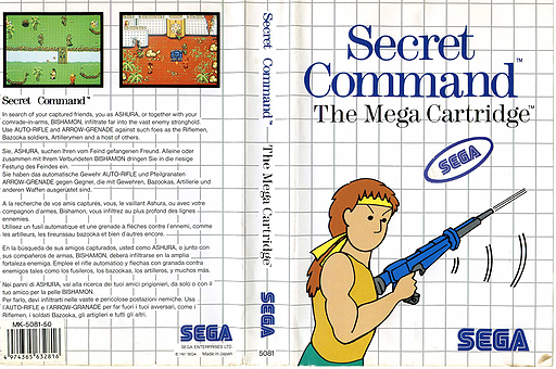 Secret Command VC-SMS cover (LAFP)