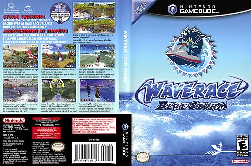 Wave Race: Blue Storm GameCube cover (GWRE01)