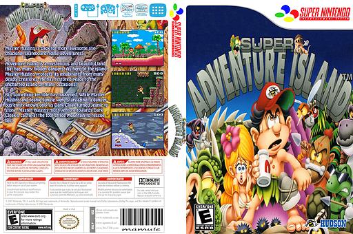 Super Adventure Island VC-SNES cover (JD7E)