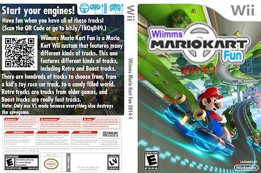 Wiimms MKW Fun 2014-01.ntsc CUSTOM cover (RMCE23)