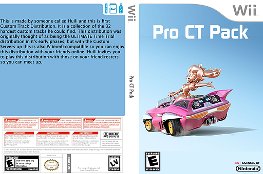 Pro CT Pack CUSTOM cover (RMCE76)