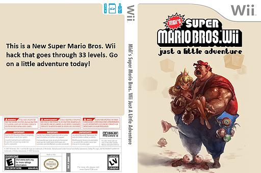 Midi's Super Mario Bros. Wii Just a Little Adventure CUSTOM cover (SMNEMI)