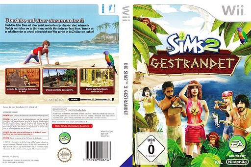 Die Sims 2: Gestrandet Wii cover (R42P69)