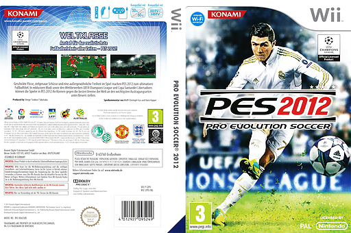 Pro Evolution Soccer 2012 Wii cover (S2PXA4)