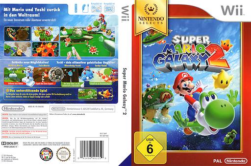 Super Mario Galaxy 2 Wii cover (SB4P01)