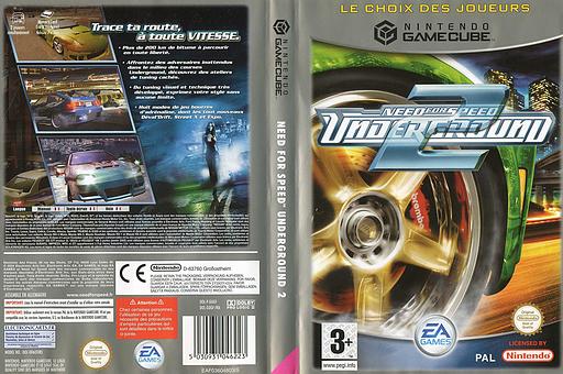 Need for Speed: Underground 2 pochette GameCube (GUGF69)