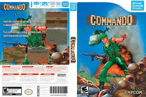 Commando VC-Arcade cover (E55E)