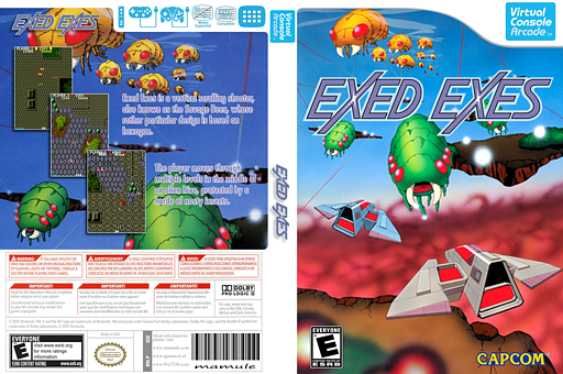 Exed Exes VC-Arcade cover (E56E)