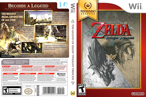The Legend of Zelda: Twilight Princess Wii cover (RZDE01)
