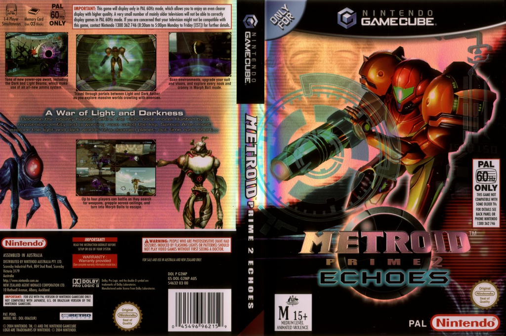 Metroid Prime 2: Echoes Wii coverfullHQ (G2MP01)