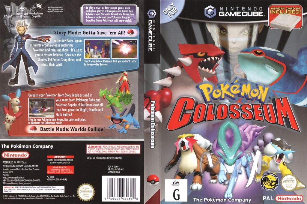 Pokémon Colosseum Wii coverfullHQ (GC6P01)