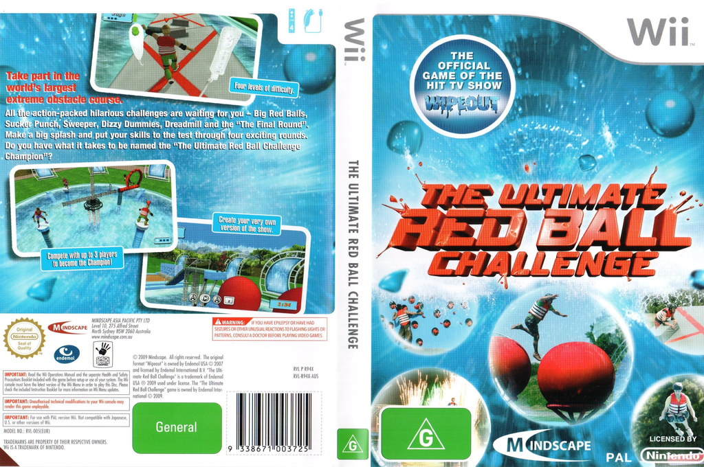 The Ultimate Red Ball Challenge Wii coverfullHQ (R94XMR)