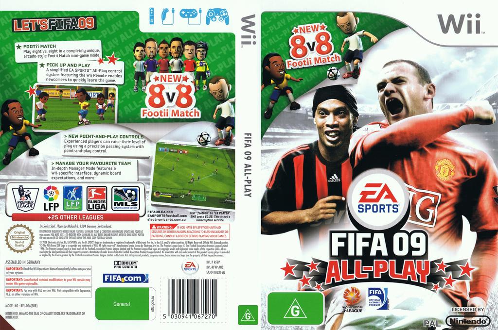 FIFA 09 All-Play Wii coverfullHQ (RF9Y69)