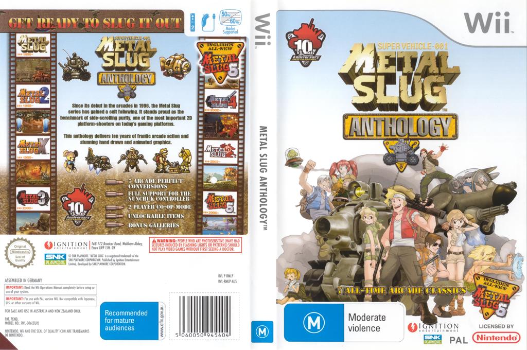 Metal Slug Anthology Wii coverfullHQ (RMLP7U)