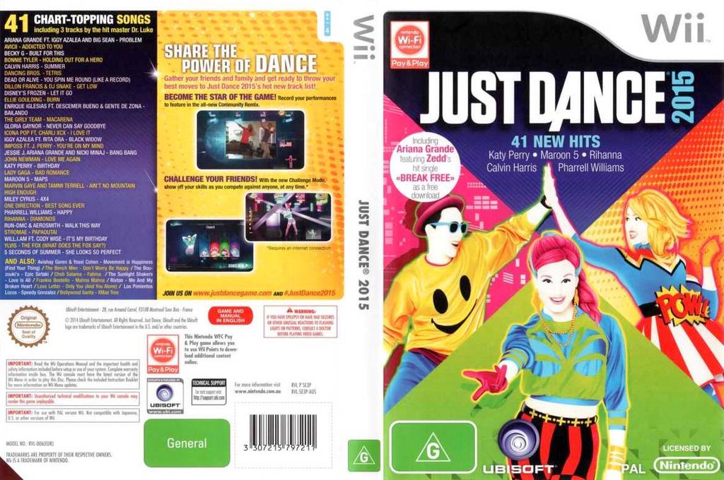 Just Dance 2015 Wii coverfullHQ (SE3P41)