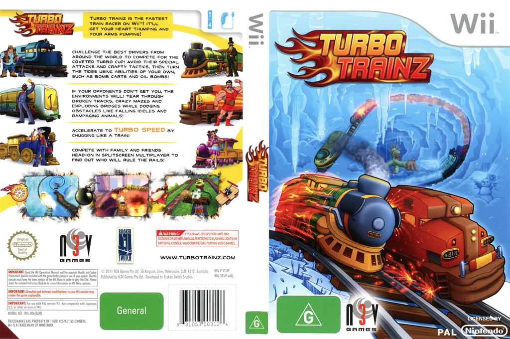 Turbo Trainz Wii coverfullHQ (STUPRN)