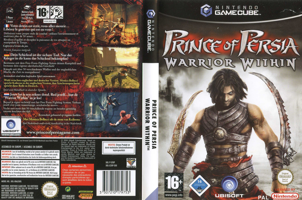 Prince of Persia: Warrior Within Wii coverfullHQ (G2OP41)