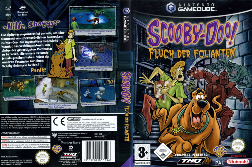 Scooby-Doo!: Fluch der Folianten Wii coverfullHQ (GC3D78)