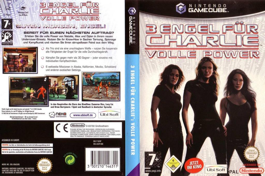 3 Engel Für Charlie: Volle Power Wii coverfullHQ (GCGP41)